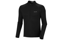 Columbia Men&#039;s Extreme Fleece manches longues 1/2 Zip noir